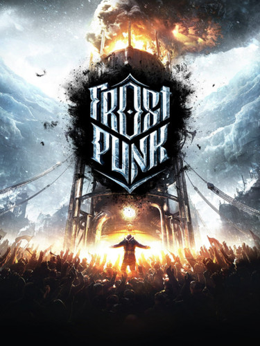 Cover media of Frostpunk video game.