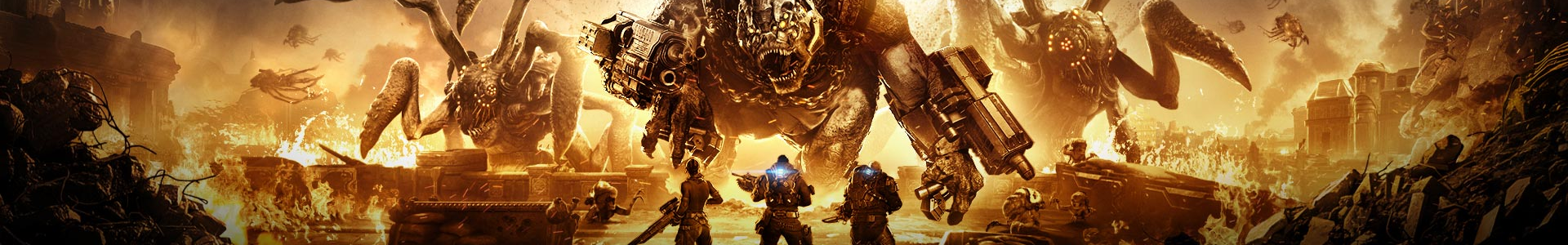 Banner media of Gears Tactics video game.