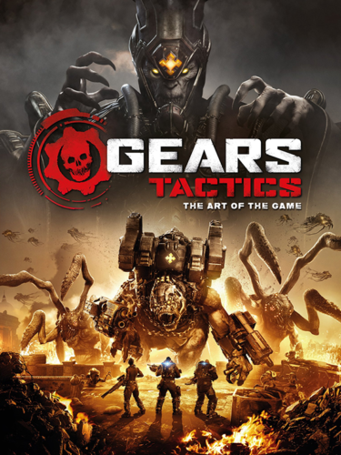 Cover media of Gears Tactics video game.
