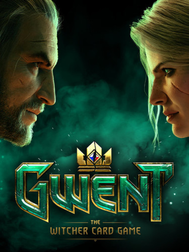 Cover media of Gwent: The Witcher Card Game video game.