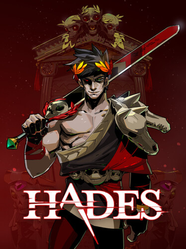 Cover media of Hades video game.