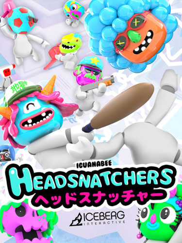 Cover media of Headsnatchers video game.