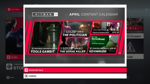 hitman-2-april-content-calendar