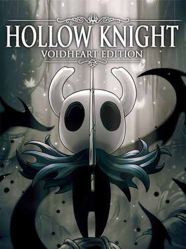 Cover media of Hollow Knight video game.