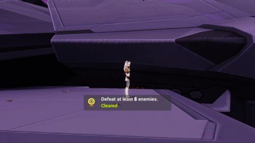 Challenge cleared screenshot of Honkai Impact 3rd video game interface.