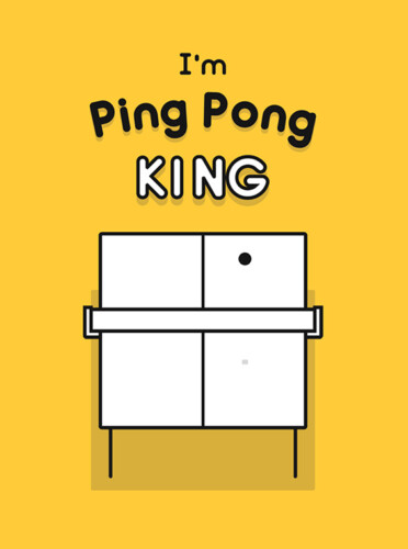 Cover media of I'm Ping Pong King :) video game.