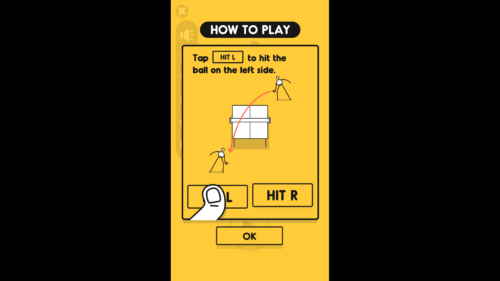 How To Play screenshot of I'm Ping Pong King :) video game interface.