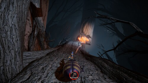 HUD screenshot of It Takes Two video game interface.