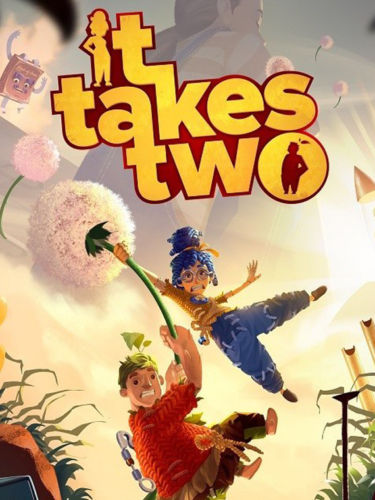 Cover media of It Takes Two video game.