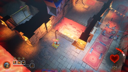 Isometric Gameplay - Single Character Death screenshot of It Takes Two video game interface.