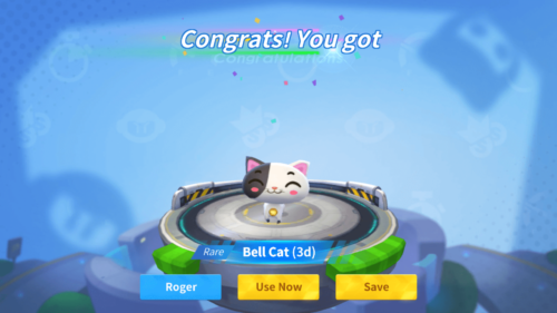 Bell Cat screenshot of KartRider Rush+ video game interface.