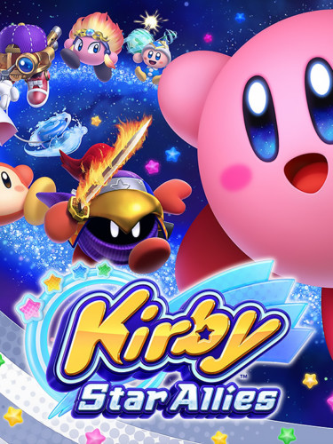 Cover media of Kirby Star Allies video game.