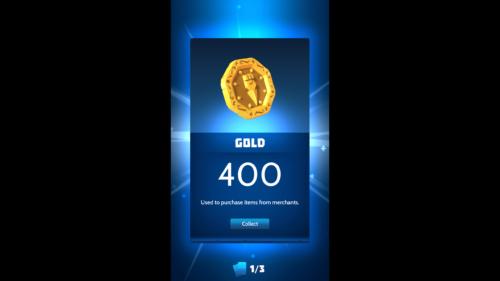 Gold screenshot of Knighthood video game interface.