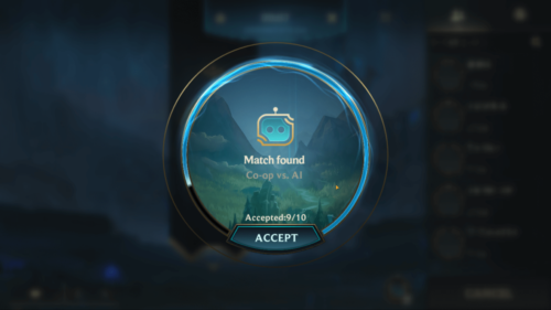 Match found screenshot of League of Legends: Wild Rift video game interface.