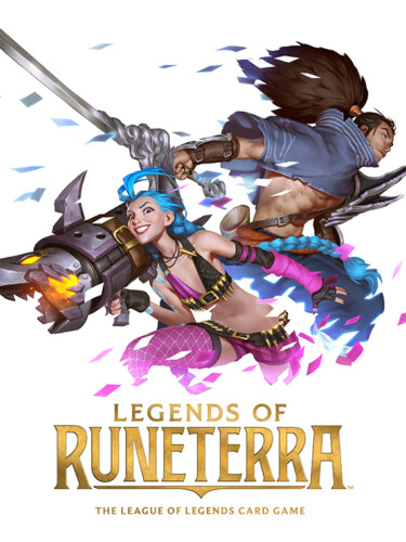 Cover media of Legends of Runeterra Mobile video game.