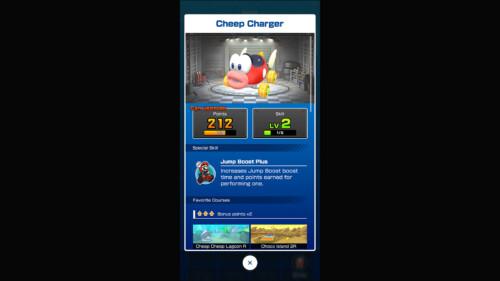 Inventory - Kart Detail screenshot of Mario Kart Tour video game interface.