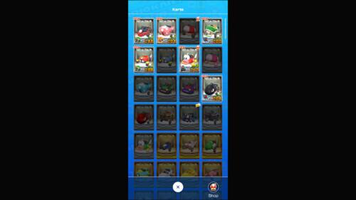 Inventory - Karts screenshot of Mario Kart Tour video game interface.