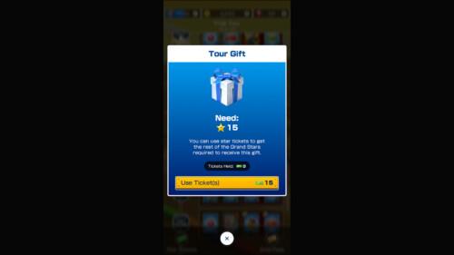 Item Detail screenshot of Mario Kart Tour video game interface.