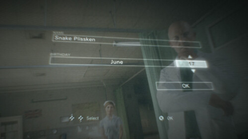 Birth Date screenshot of Metal Gear Solid V: The Phantom Pain video game interface.