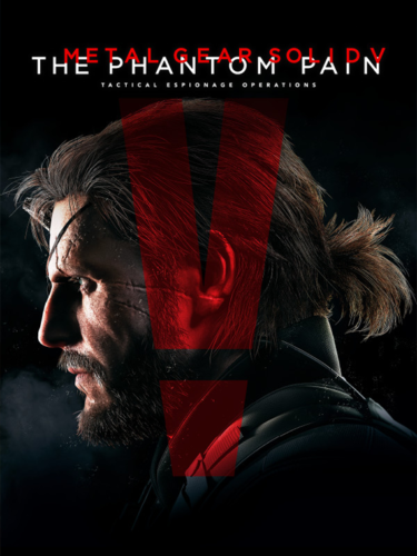 Cover media of Metal Gear Solid V: The Phantom Pain video game.