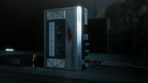 Cut Scene screenshot of Metal Gear Solid V: The Phantom Pain video game interface.