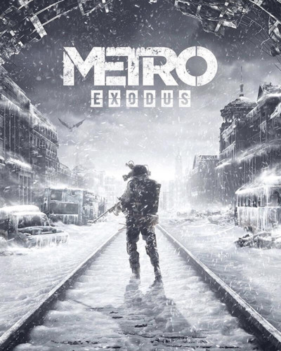 Cover media of Metro Exodus video game.