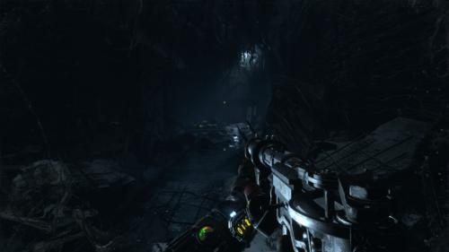 In game screenshot of Metro Exodus video game interface.