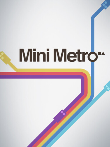 Cover media of Mini Metro video game.