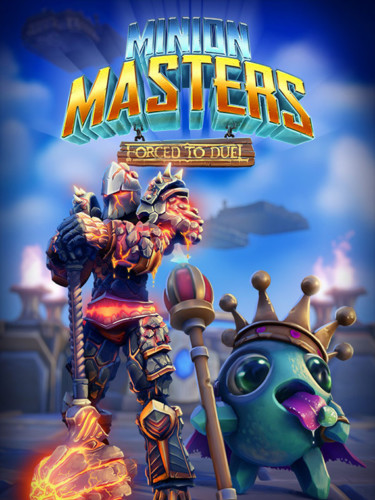 Cover media of Minion Masters video game.