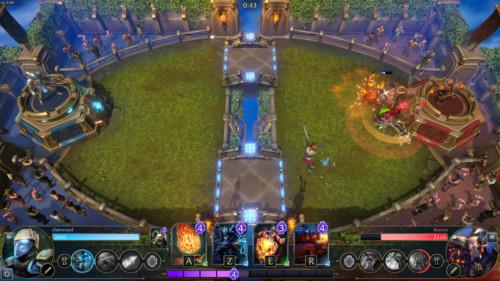Damage screenshot of Minion Masters video game interface.