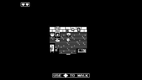 Tutorial screenshot of Minit video game interface.