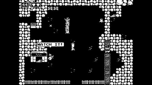 Watch it screenshot of Minit video game interface.