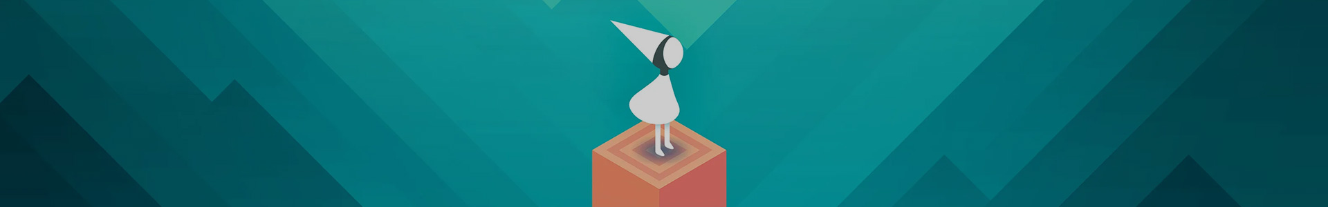 Banner media of Monument Valley video game.