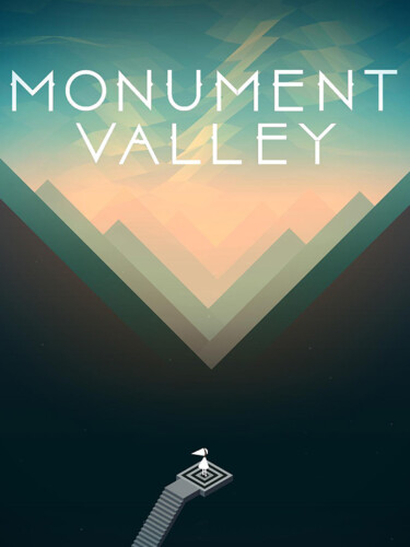 Cover media of Monument Valley video game.