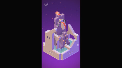 In Game Interactive Structure screenshot of Monument Valley video game interface.