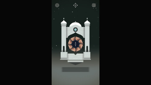 Level Selection screenshot of Monument Valley video game interface.