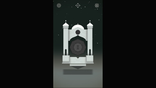 Level Selection Locked screenshot of Monument Valley video game interface.