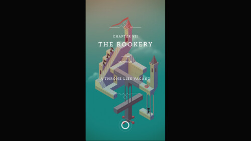 Loaded Level Screen screenshot of Monument Valley video game interface.