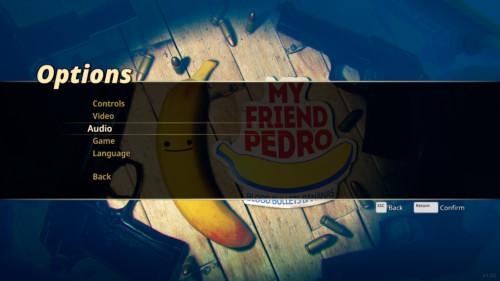 my-friend-pedro-options