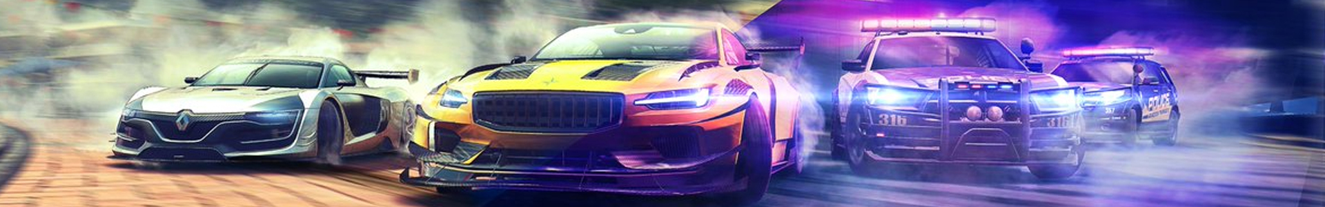 Banner media of Need for Speed Heat video game.