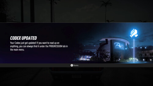Codex  screenshot of Need for Speed Heat video game interface.