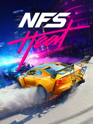 Cover media of Need for Speed Heat video game.