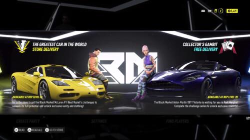 DLC Advertising  screenshot of Need for Speed Heat video game interface.