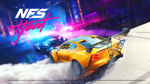 Loading Screen screenshot of Need for Speed Heat video game interface.
