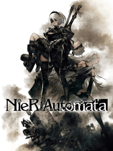 Cover media of NieR:Automata video game.