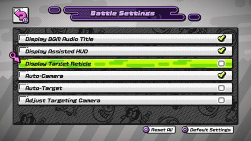 ninjala-battle-settings