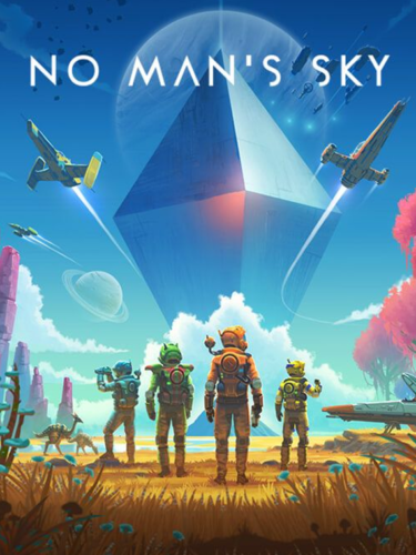 Cover media of No Man's Sky video game.