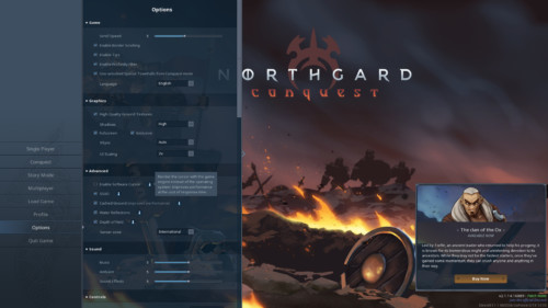 northgard-options