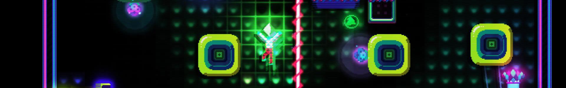 Banner media of Octahedron video game.