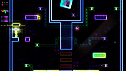 Level elements screenshot of Octahedron video game interface.